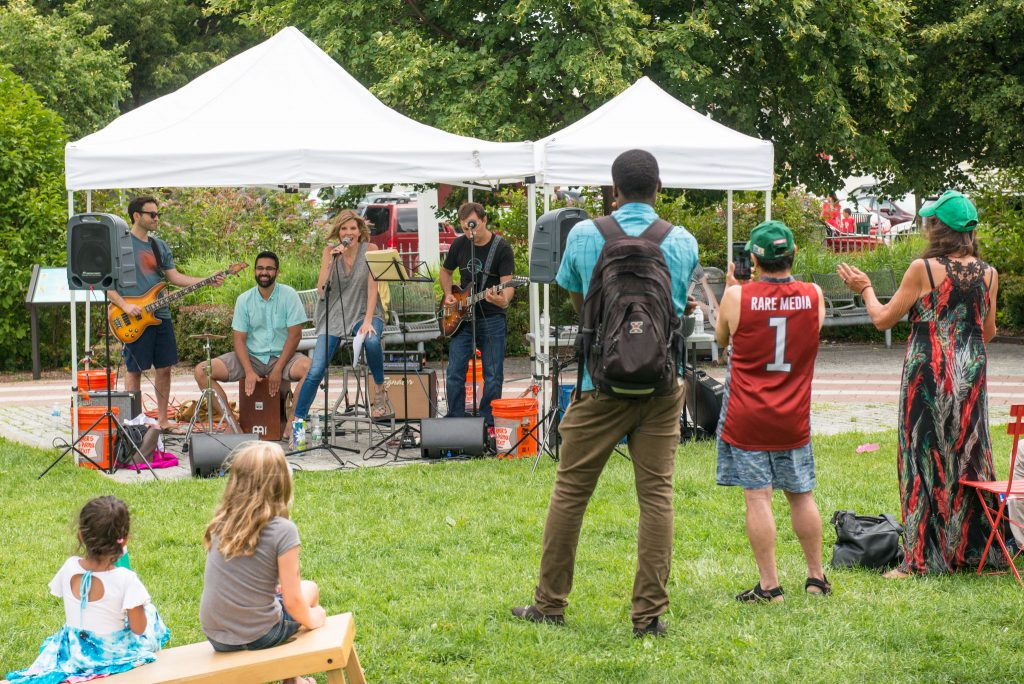 Events on Library Green (Ruby Dee Park)