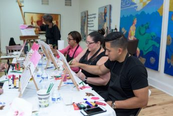 Sip and Paint at Lord & Andra Gallery