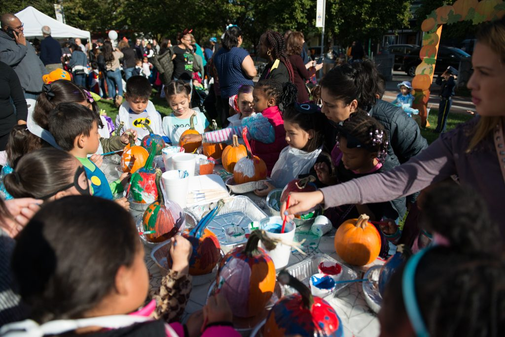 Downtown Halloween Parade and Pumpkin Painting