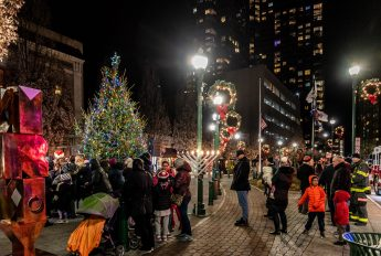 Holiday Tree and Menorah Lighting
