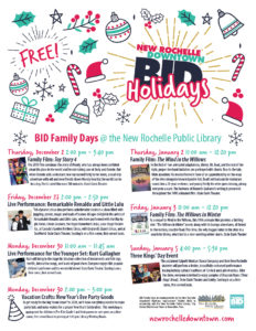 BID Family Days at the New Rochelle Public Library