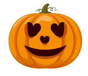 pumpkin heart