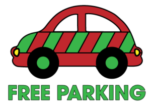Holiday Free Parking