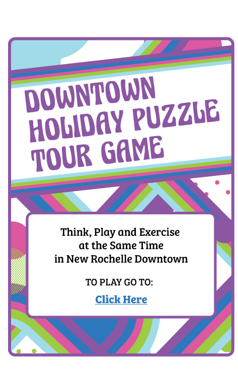Downtown Holiday Puzzle Tour Game