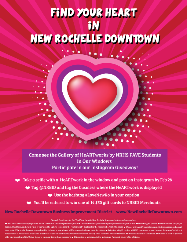 Find Your Heart in New Rochelle Downtown