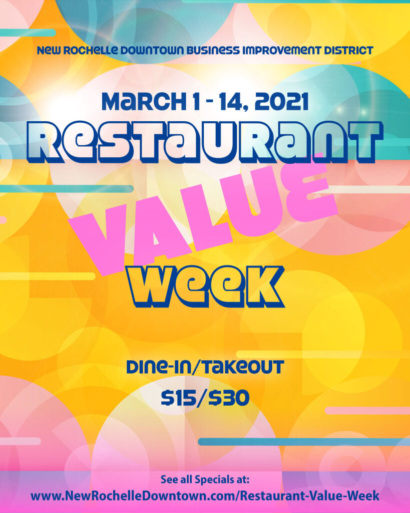 New Rochelle Downtown Restaurant VALUE Week