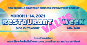 New Rochelle Downtown Restaurant Value Week