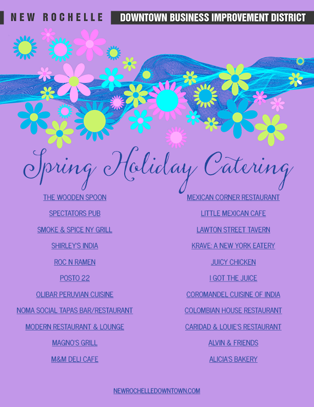 spring holiday catering