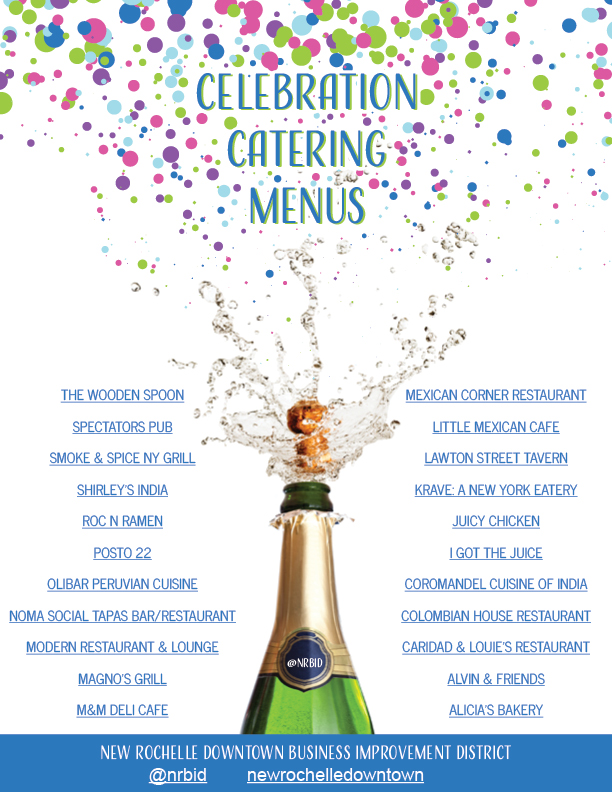 Celebration Catering Menus