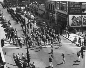 Memorial Day Parade New Rochelle 1955