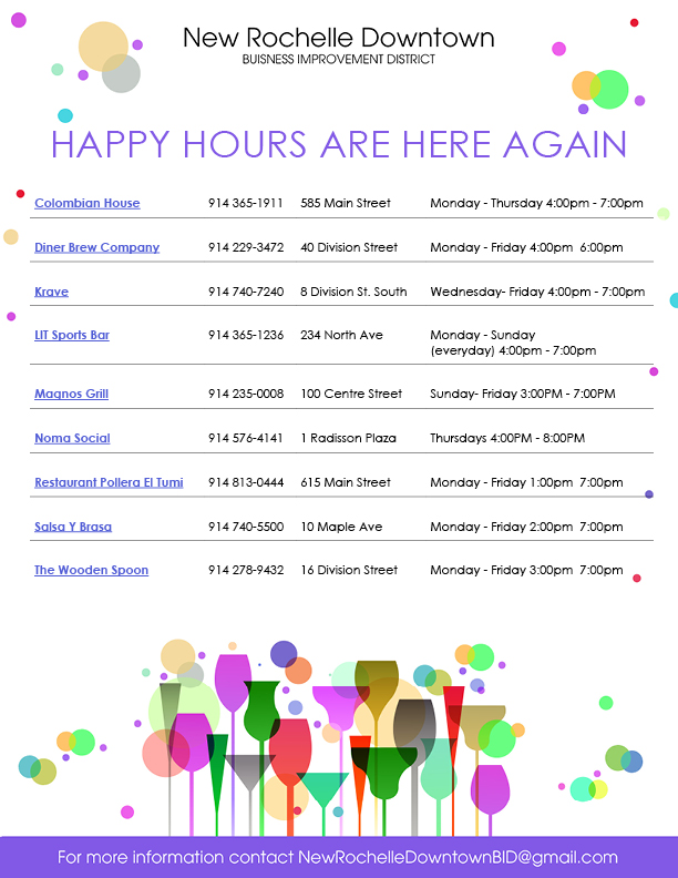 NRBID Happy Hours